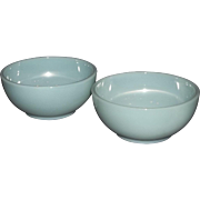 Fire King Turquoise Blue Chili Bowl-2 Available