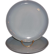 """Fire King Turquoise Blue 9"""" Dinner Plate 2 Available"""
