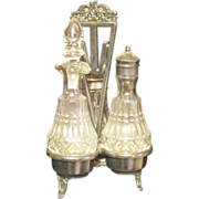 Beautiful Castor / Cruet set