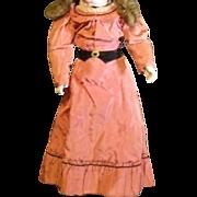 Dreamy two piece vintage doll dress