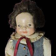 SOLD Cute bisque doll boy