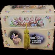 Wonderful Snow White Jewelry box