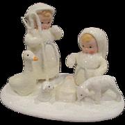 Snow Angel Nativity