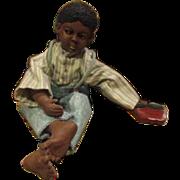 Great vintage Black boy doll