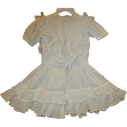 Stunning large dress with loads of  ruffles