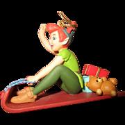 Peter Pan ornament 1988 in original box