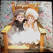 Vintage doll calender