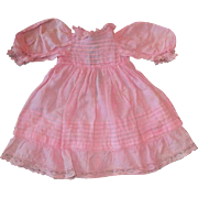 Adorable dress with lots of pintucking