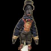 Incredible Black Golliwog doll OOAK