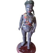 Antique Black doll warrior's wife