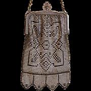 Beautiful vintage mesh purse