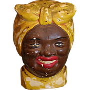 Vintage Aunt Jemima / mammy  chalk hot pad holder