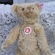 SOLD Limited Edition Blonde Teddy by Steiff for their 100th Anniversary - Red Tag Sale Item