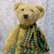 SALE PENDING 12 inch Vintage German Mohair Bear