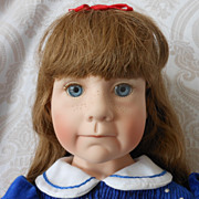 "Julie Good-Kruger Limited Edition Vinyl Artist Doll ""Love Me"""