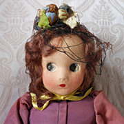"All Original ""Little Shaver"" Cloth Doll by Madame Alexander"