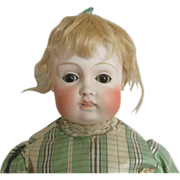 Fabulous Kestner Bru German Bisque Head Doll
