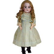 Kestner German Closed Mouth Bisque Head Doll