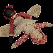 SOLD Bruckner Cloth Topsy Turvy Doll