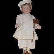 SOLD Kammer & Reinhardt German Bisque Head Character Doll 114 Hans