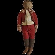 SOLD Ida Gutsell Cut and Sew Cloth Boy Doll