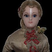SALE PENDING Fabulous All Original German Wax Lady Doll
