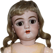 Simon & Halbig Handwerck 109 German Bisque Head Doll