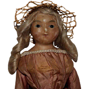 Early English Wax over Composition Doll
