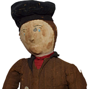 Cloth Gentleman in Great Early Costume