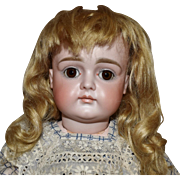 Fabulous XI Kestner Pouty Bisque Head Doll