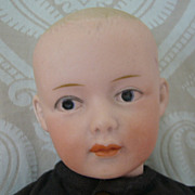 SALE Gebruder Heubach German Bisque Head Character Boy Doll