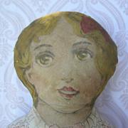 Lithograph Printed Cloth Doll