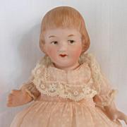 SALE Sweet German All Bisque Gebruder Heubach Child Doll