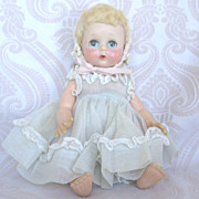 "Madame Alexander ""Little Genius"" Doll in Original Dress"