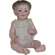 Kestner German Bisque Head Character Baby 211