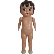 Betty Boop Style Vintage Hard Plastic Doll
