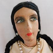 REDUCED Argentine Cloth Lady in Original Costume