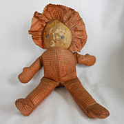 REDUCED Cloth Doll with Painted Face
