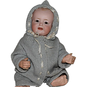 Kley & Hahn German Bisque Head Character Baby