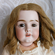 SOLD Beautiful Bisque Head Kestner Doll Mold 161