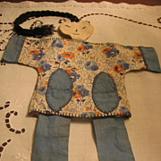 REDUCED Oriental Mystery Lady Sewing Caddie Puppet Doll?