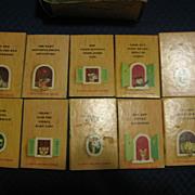 SALE 1940s Set of Tiny Animal Stories Tiny Golden Books by Kunhardt