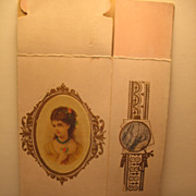 SALE 2 Chromolithographed Victorian Boxes with Lovely Ladies