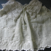 REDUCED 2 Handstitched Dainty Doll Blouses Early 1900s