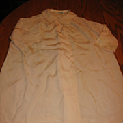SOLD Exquisite Early 1900s Handstitched Silk Baby Coat