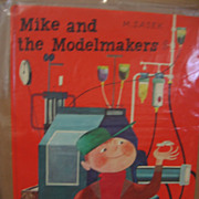 SALE Matchbox Book Mike and the Modelmakers by Sasek 1st Edition