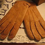 SALE Vintage Children's Soft Leather Gloves Just Like Moms