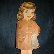 SALE Vintage One of a Kind Paper Doll Diecut with Story Book & Dresses Very ...