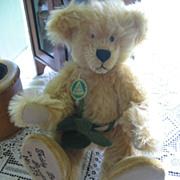 REDUCED Hermann Golden Mohair Teddy Bear in Paradise Limited Edition