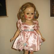 "SOLD Sonja Heine 18"" Composition Doll Vintage Doll by Madam Alexander"